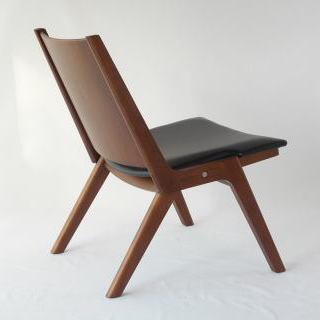 木製折り畳み椅子後ろ オリジナルデザイン