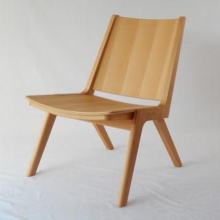 木製折り畳み椅子 オリジナルデザイン