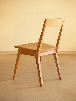 オリジナルデザイン 木製椅子 Kチェアー後