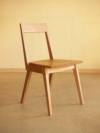 オリジナルデザイン 木製椅子 Kチェアー