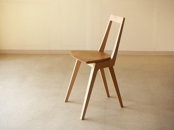 D20ダイニングスツール オリジナルデザイン木製椅子