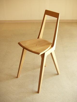 D20ダイニングスツール 木製椅子デザイン
