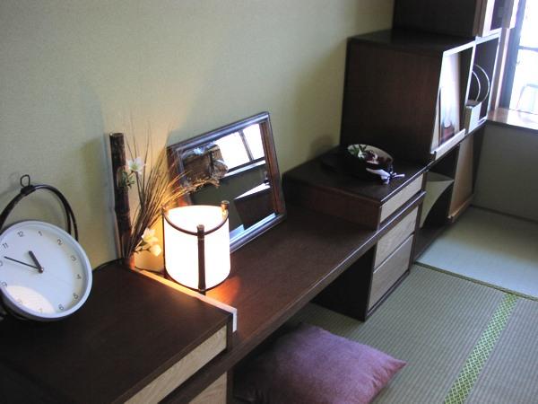 和室のボックスユニット