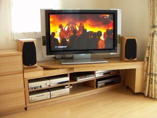 テレビボードユニット