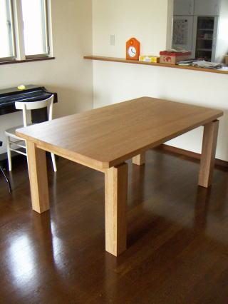 三枚接ぎテーブル