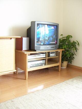丸脚テレビ台