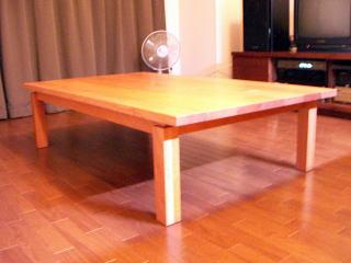 座卓|オーダー家具の作品例
