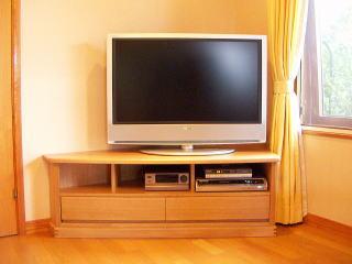 コーナーテレビ台正面