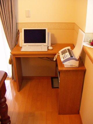 L型パソコンデスク