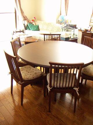 丸テーブル&チェア
