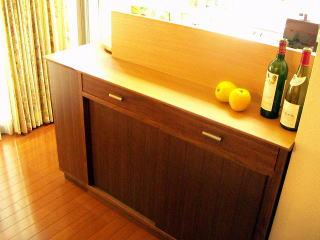 L型キッチンカウンター