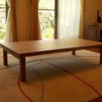 シンプル座卓