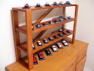 ミニカーラック|オーダー家具 作例