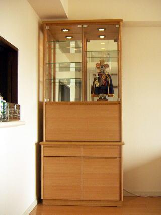 北欧テイストの飾り棚