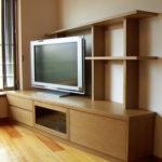 斜め15度のテレビリビングボード