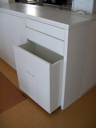 カウンター ゴミ箱