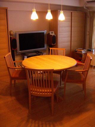 オーダー丸テーブル1100