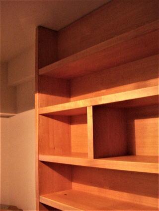 厚棚書棚 梁の部分