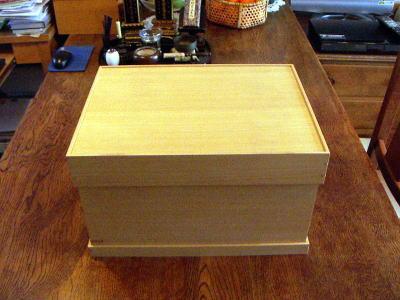 お盆型仏壇 箱状態