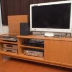 テレビ台兼用オーディオボード