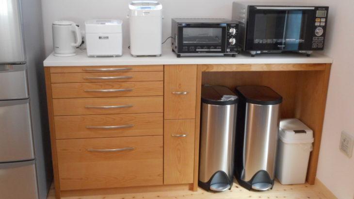 人工大理石のキッチンカウンター
