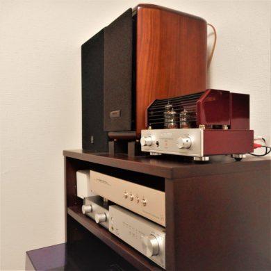 オーディオラックのアップ|オーダー家具作品例