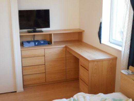 寝室コーナー家具