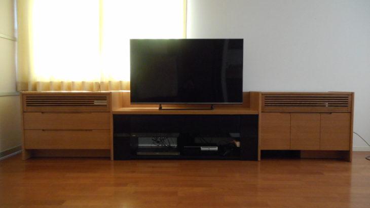 既存のテレビ台を活かしたローボードユニット|オーダー家具 作例