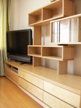 リビングボード+テレビ台