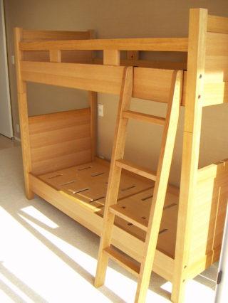 スリム二段ベッド