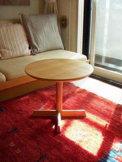 丸サイドテーブル